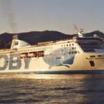 Moby Aki:Tragitto: Livorno-(Piombino)- Olbia