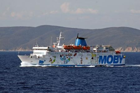 M/N MOBY LALLY  1.300 t.