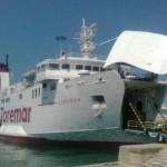 Tragitto: Livorno-Capraia.